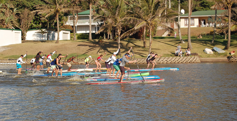 Starboard Zinkwazi 10KM SUP Race 2016