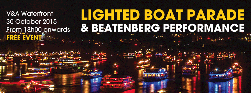 lighted boat parade v&a waterfront
