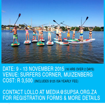 Become An Official SUP Instructor with ISA Accreditation