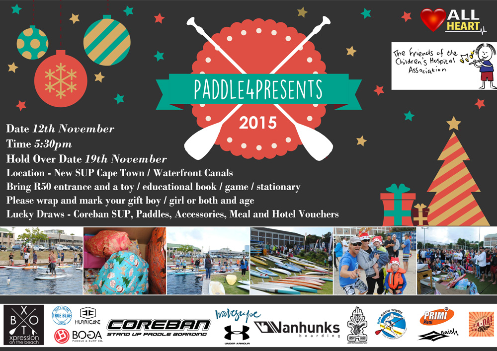 Paddle4Presents 2015 – Cape Town