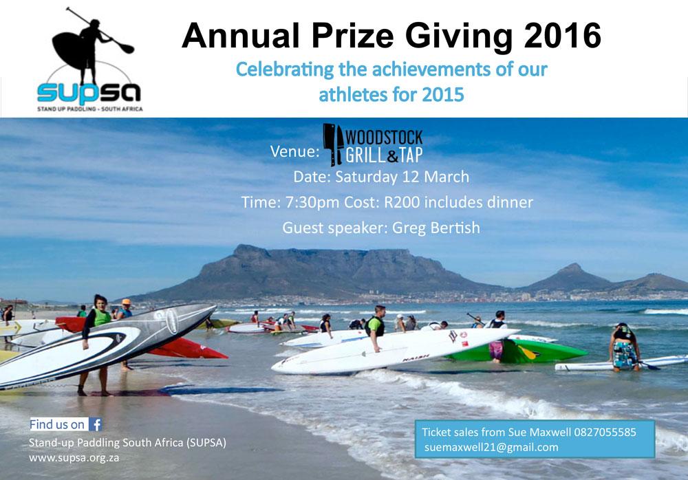 SUPSA Annual Prize Giving Evening Announced