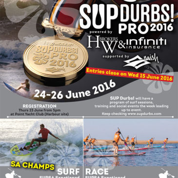 SUP Durbs Pro 2016 Entries are Go!