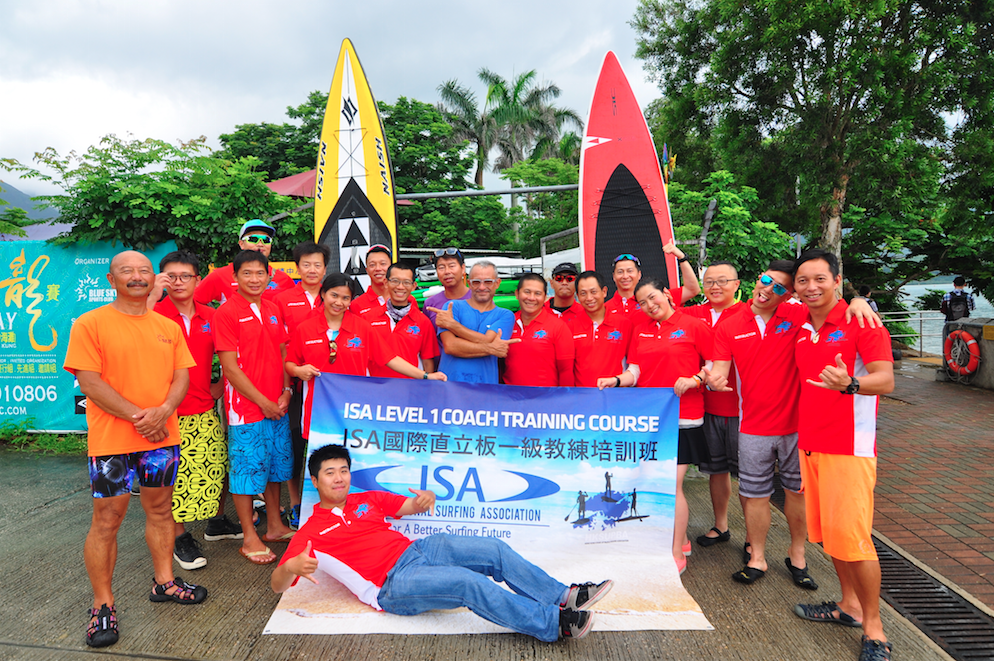 INTERNATIONAL SURFING ASSOCIATION SPURS GLOBAL DEVELOPMENT OF SUP CERTIFYING 150 INSTRUCTORS IN 12 COUNTRIES