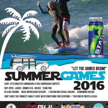 2016 Siganture Summer Games Announced
