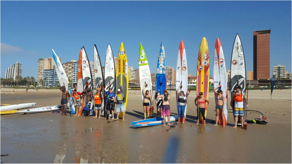 Dos Santos & De Billot Win 2017 King of the Bay SUP Race