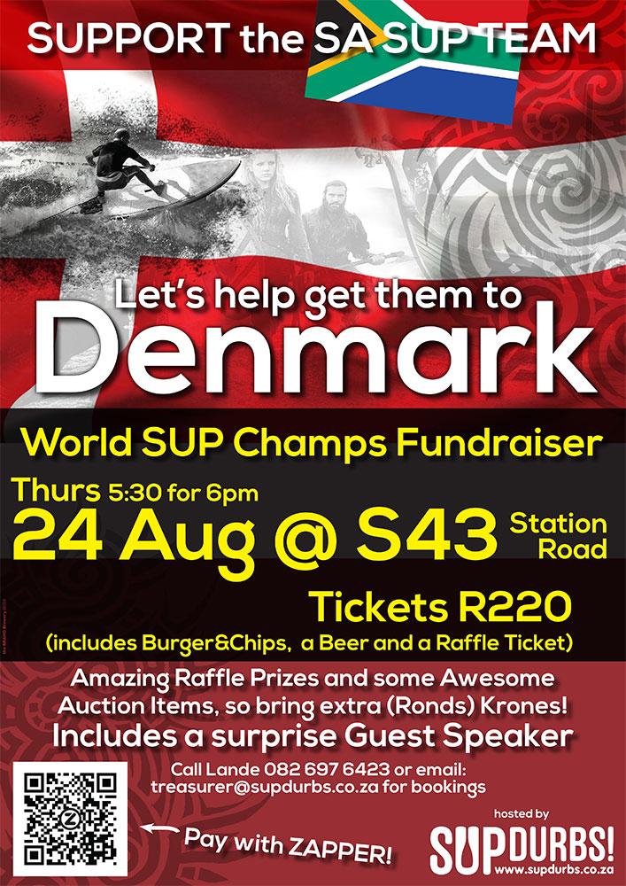 Support the SA SUP Team