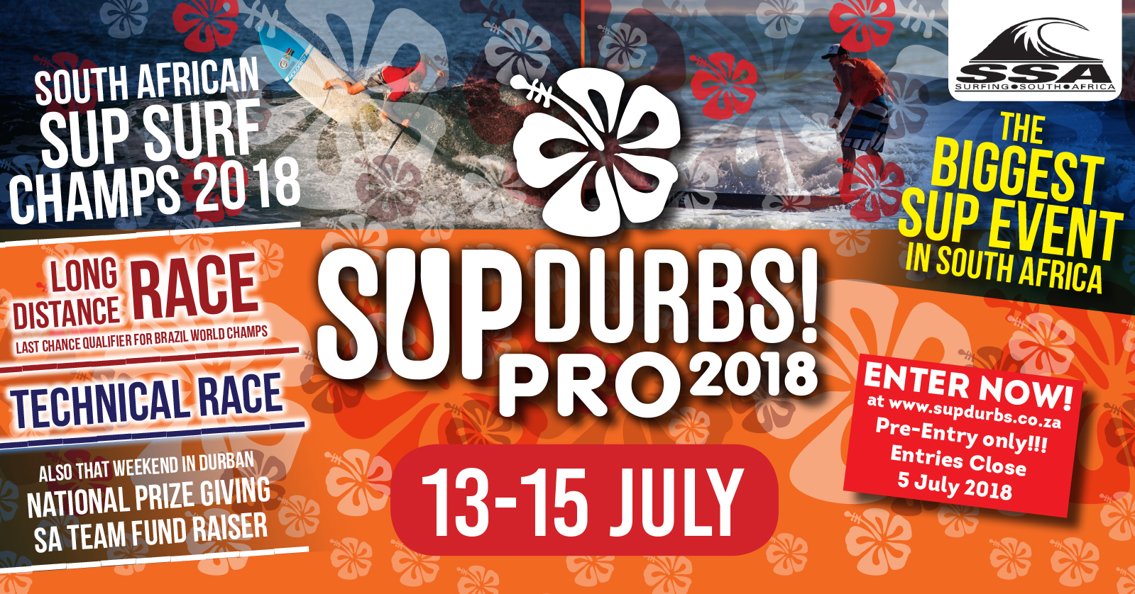 Enter the 2018 SUP Durbs Pro Now