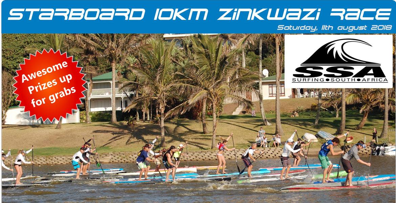 2018 Starboard Zinkwazi 10km SUP Race