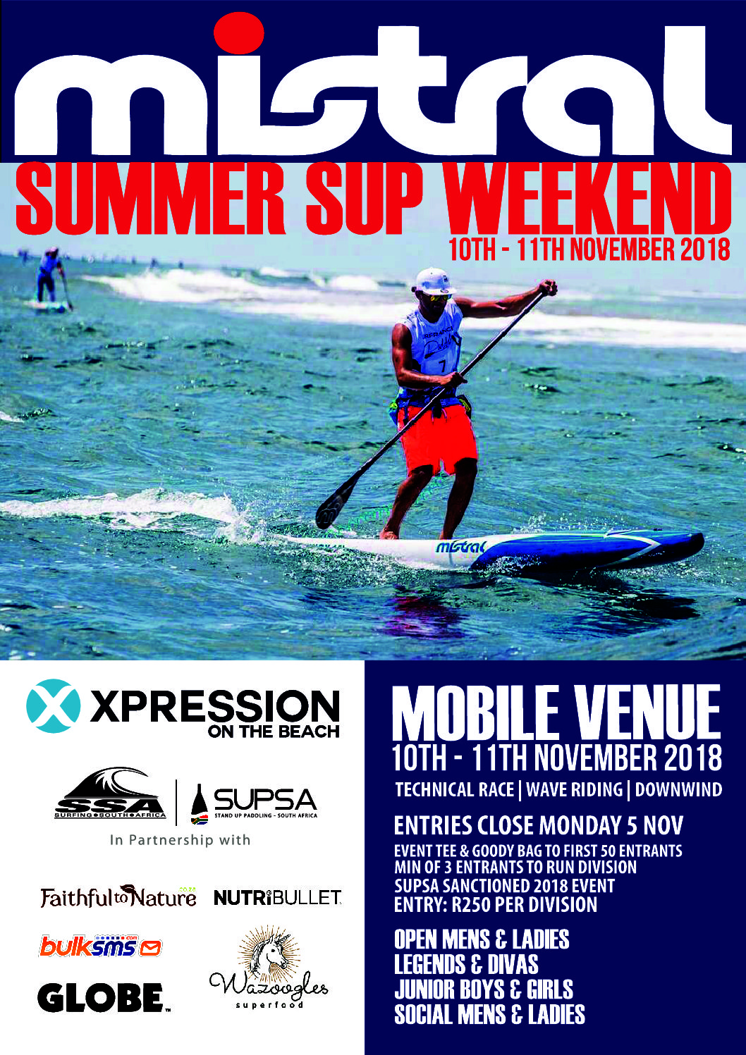 Mistral Summer SUP Weekend