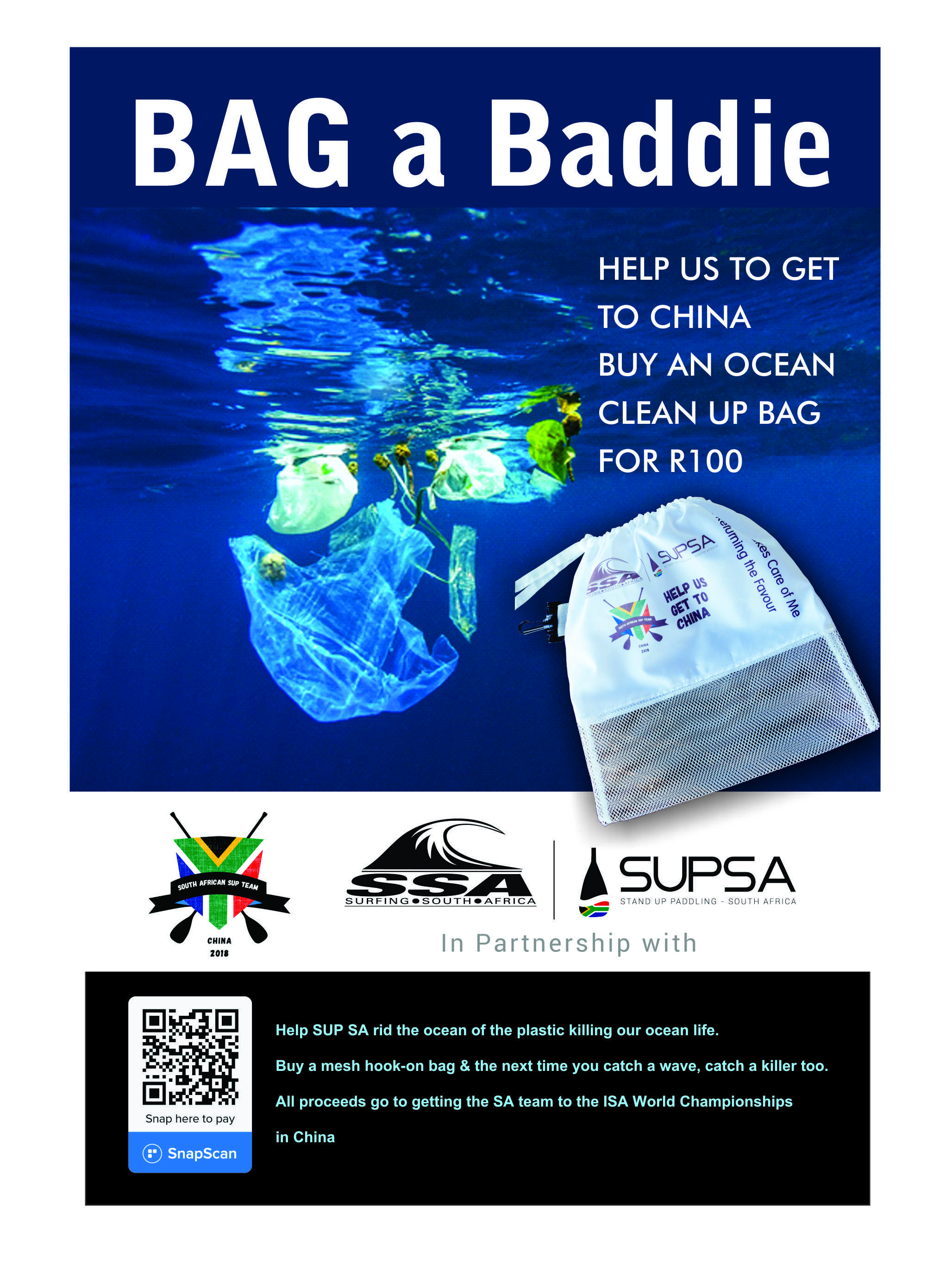 Help Team SA get to China – Bag-A-Baddie