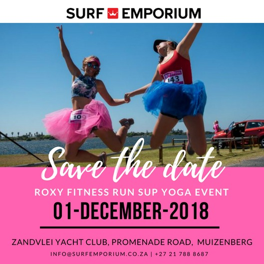 #ROXYFITNESS –  RUN SUP YOGA EVENT